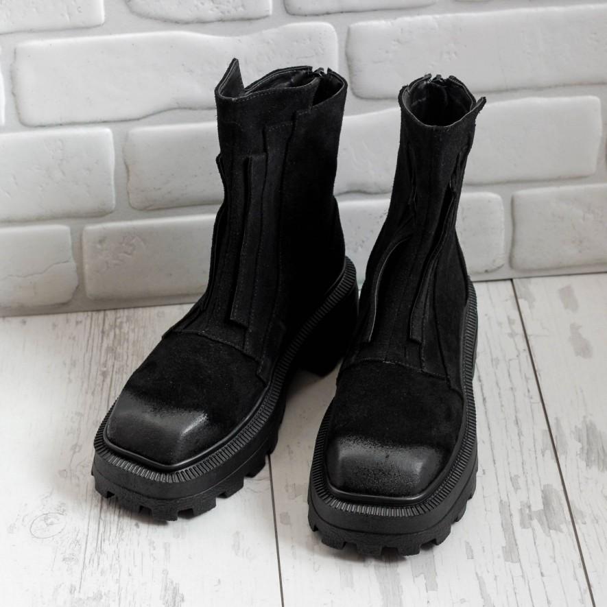 Ghete - Milli - Suede Black