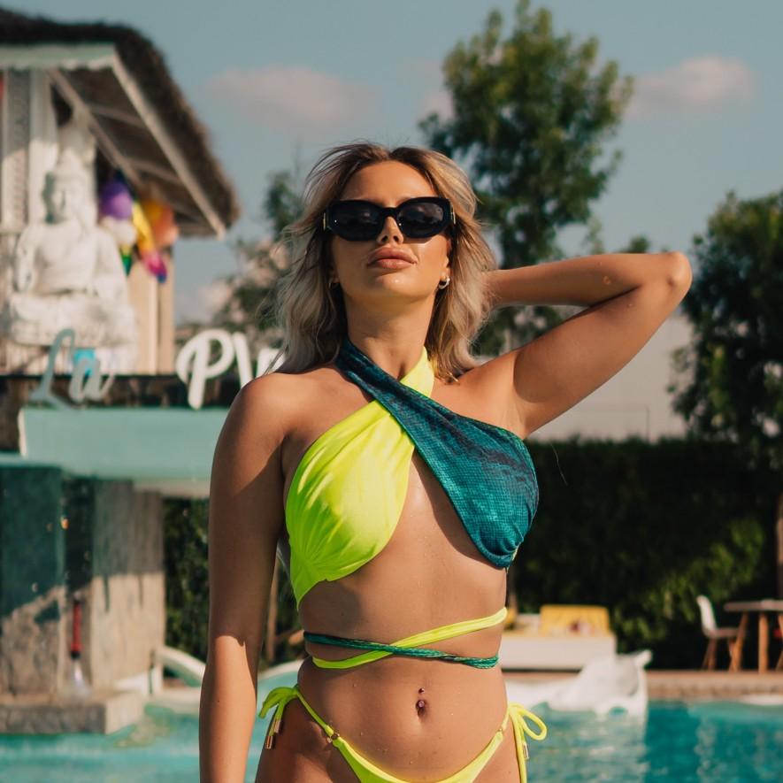 Bustiera - Monaco - Combo Green Neon