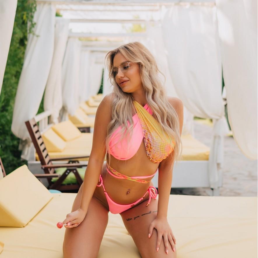 Bustiera - Monaco - Combo Pink Neon