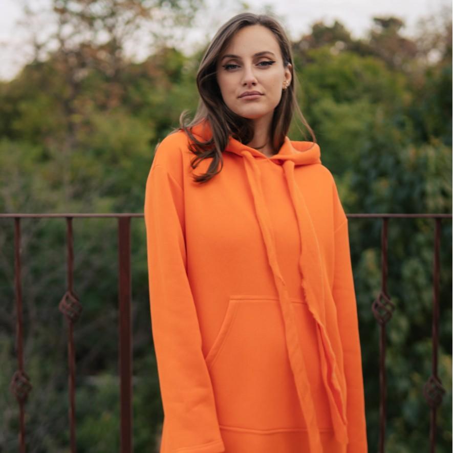 Rochie - Hanorac - Ronne - Orange